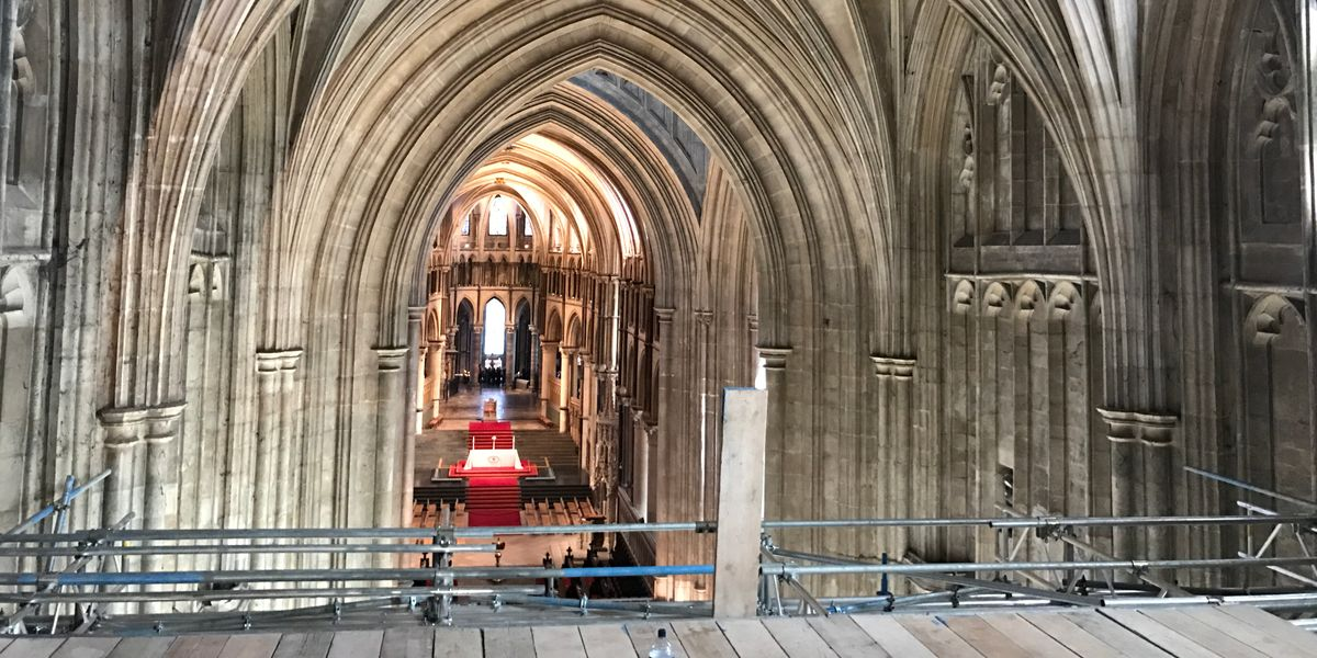 Cathedral restoration journey underway