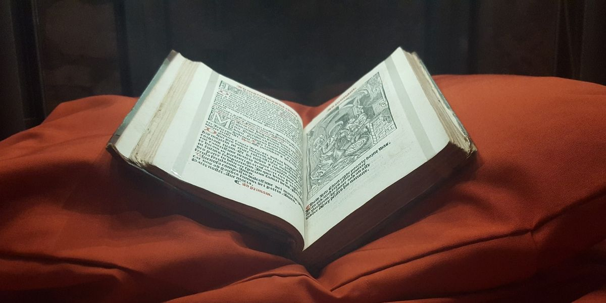 16th Century Primer on display