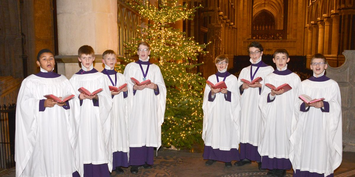 Canterbury Cathedral Service of Carols for Christmas.