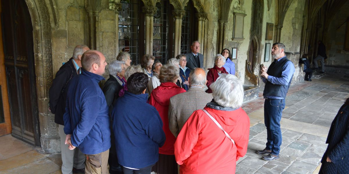 Daily mini-talks to provide an insight into the Cathedral's rich history
