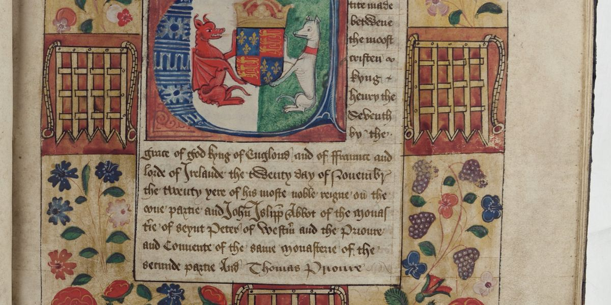 Illustrating Authority: Henry VII's Quadripartite Indenture