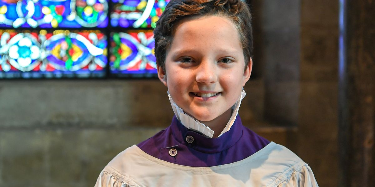 Chorister to sing in final of BBC competition