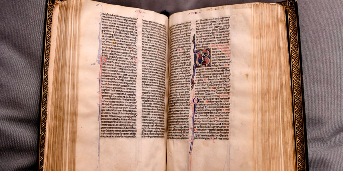 Illuminating The Bible In Medieval Canterbury