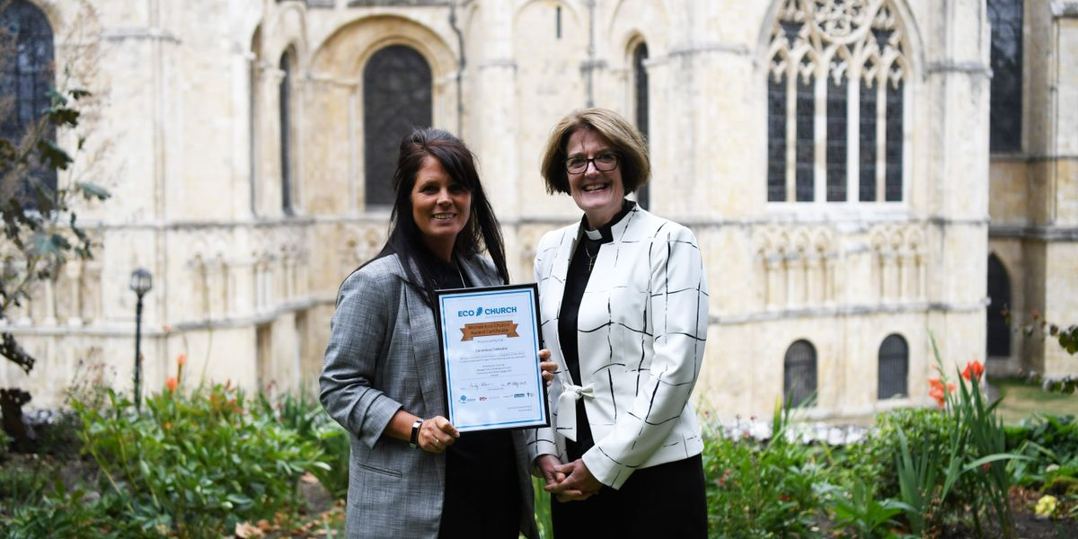 Canterbury Cathedral Receives Bronze Eco-Church Award