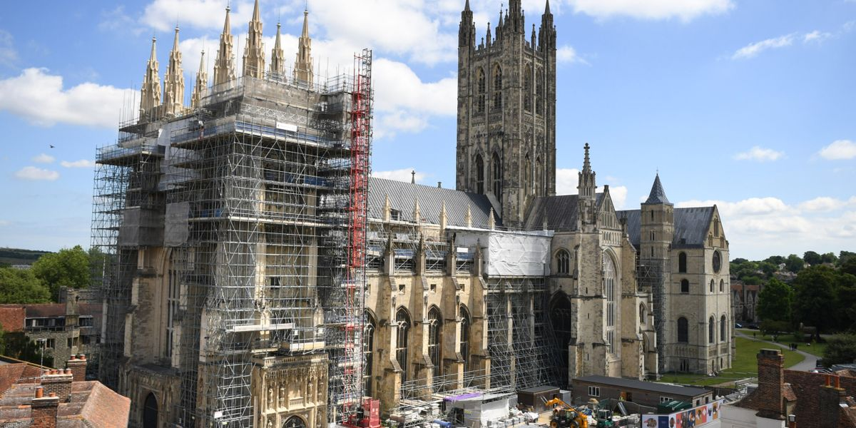 Canterbury Journey contractors return to work