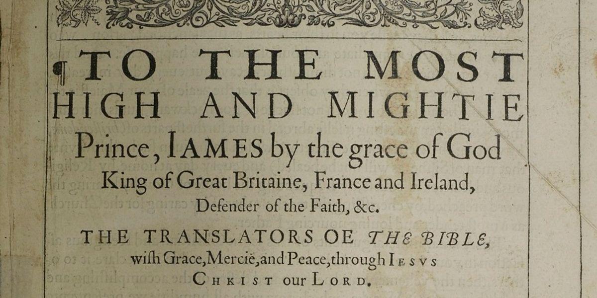 Item 10: The King James Bible