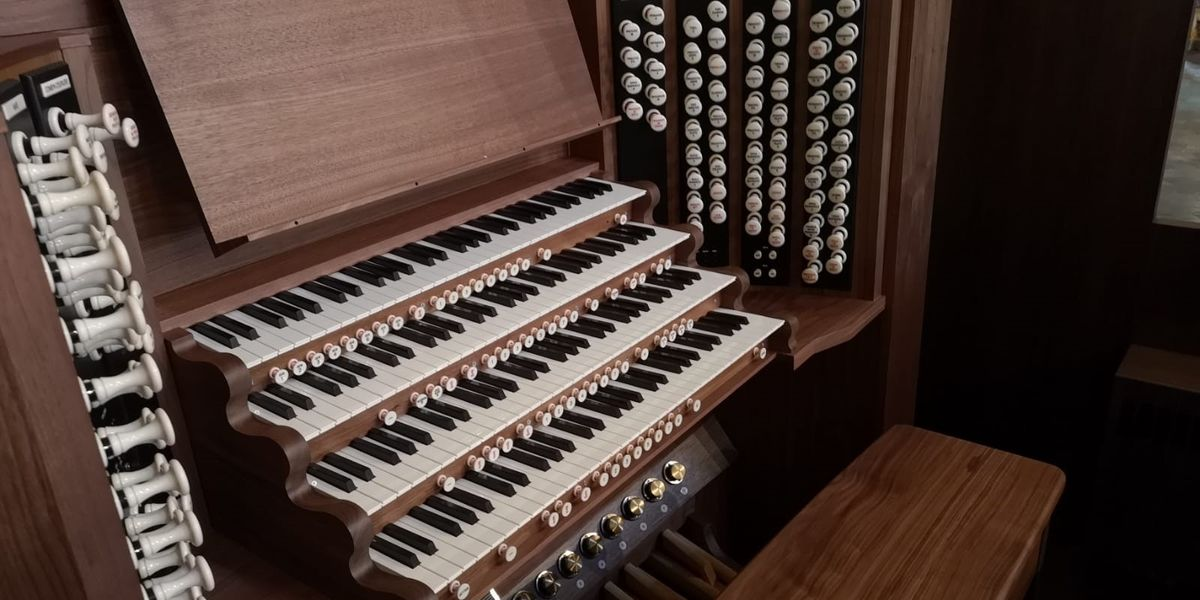 Organ concert – Jamie Rogers (Passacaglias, Chorales and Riffs)