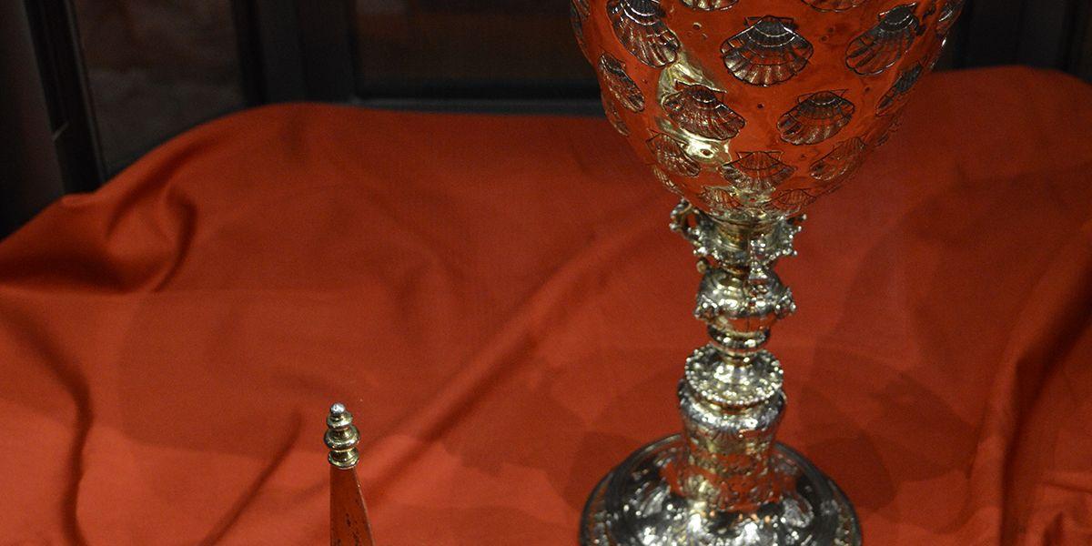 Steeple Cup on Display