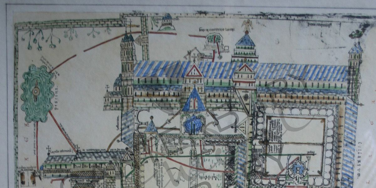 The Waterworks Drawing from the Eadwine Psalter