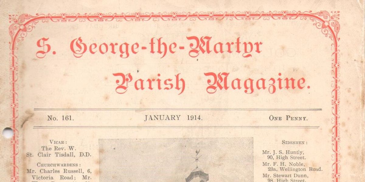 WWI through the eyes of a Vicar of St George's Deal