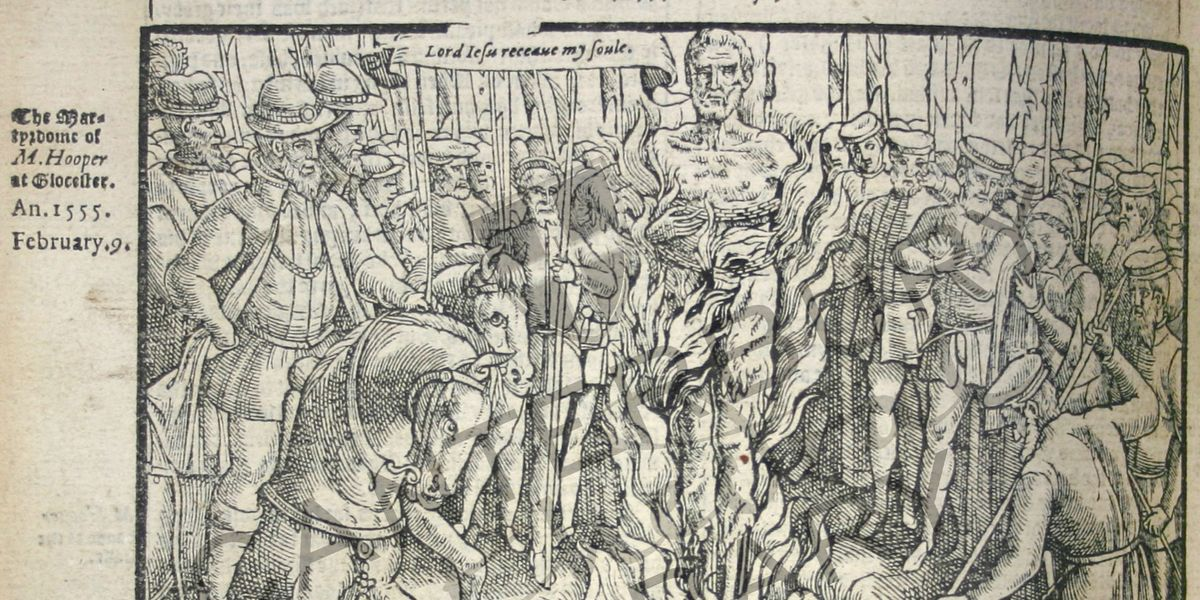 Witnessing Martyrdom: Woodcuts & Gore in John Foxe's Acts & Monuments