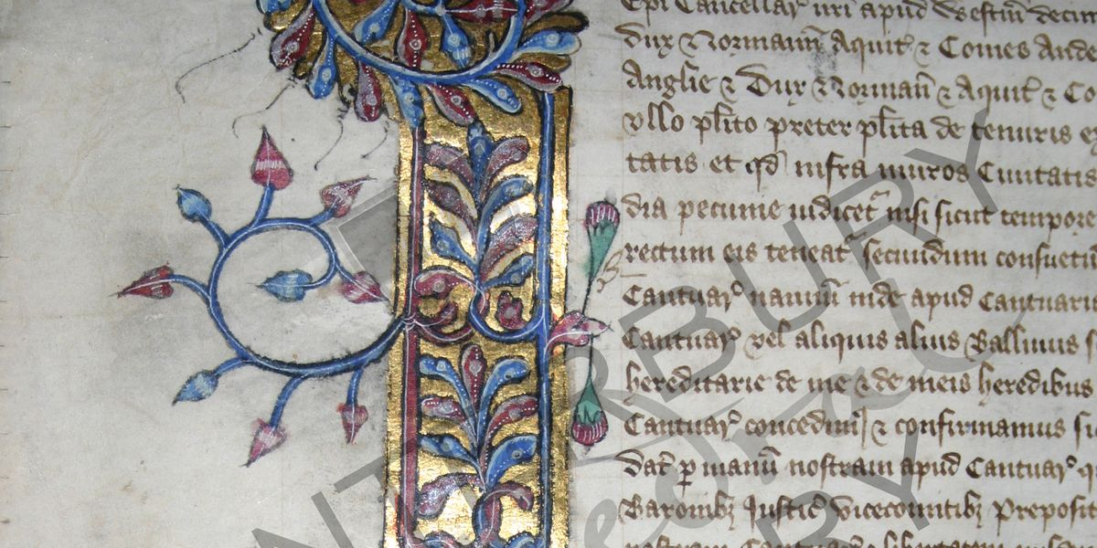 Is Richard II's 1380 charter all it seems?