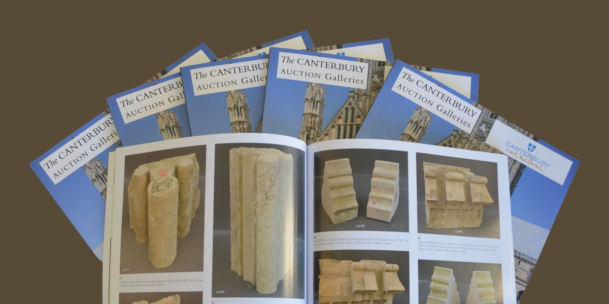 Stone Auction catalogue on sale
