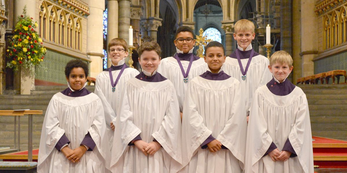 Historic moment for choristers as auditions announced for new members