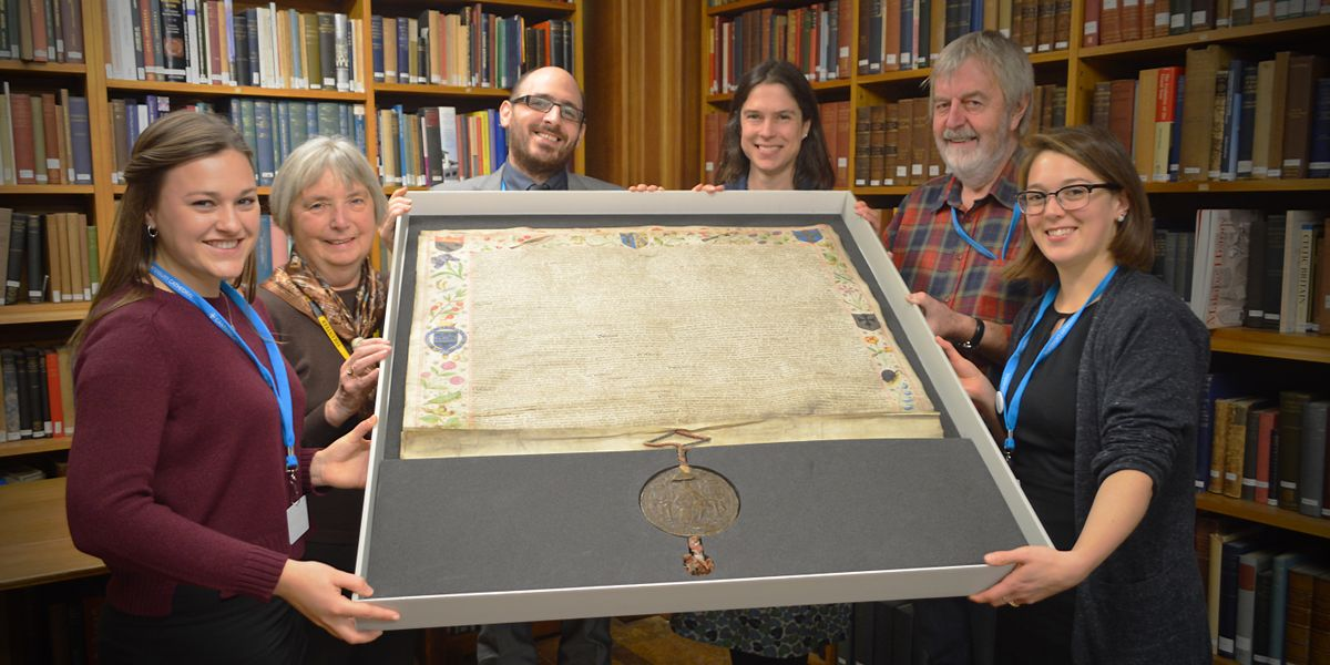 National recognition for Cathedral Archives