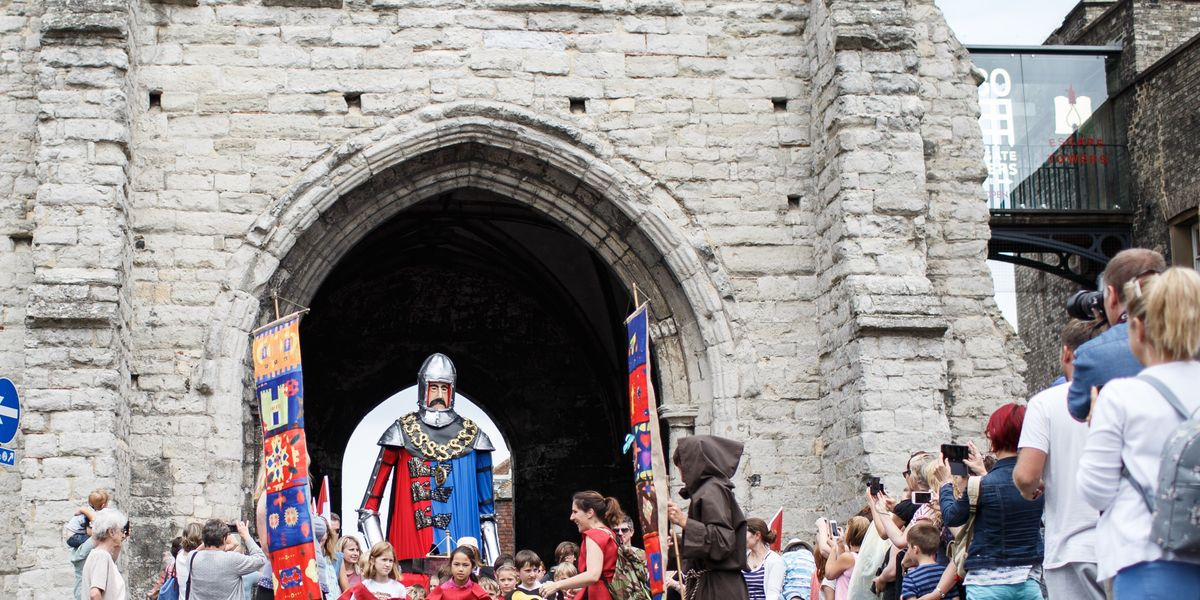 Canterbury City Medieval Pageant