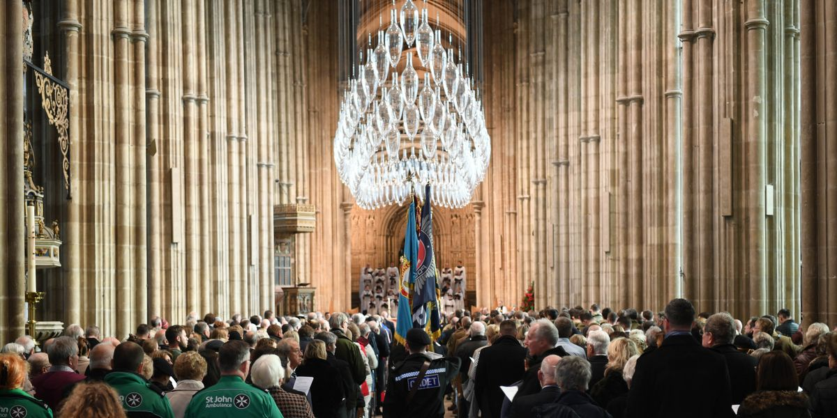 Remembrance Sunday in Canterbury