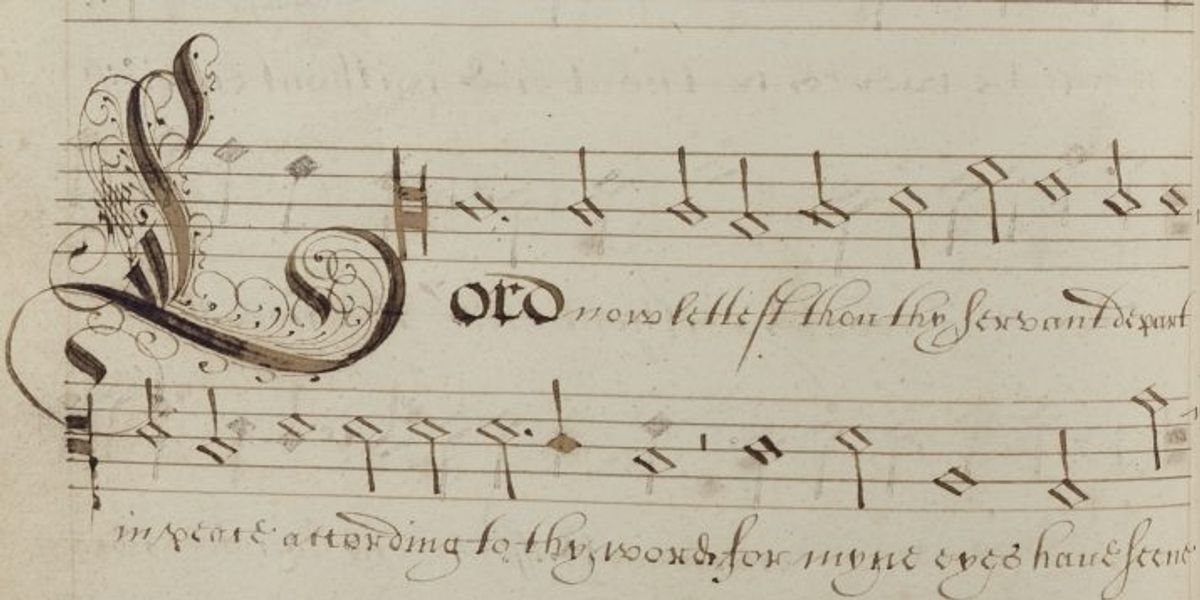 Music in the Collections of Canterbury Cathedral Exhibition