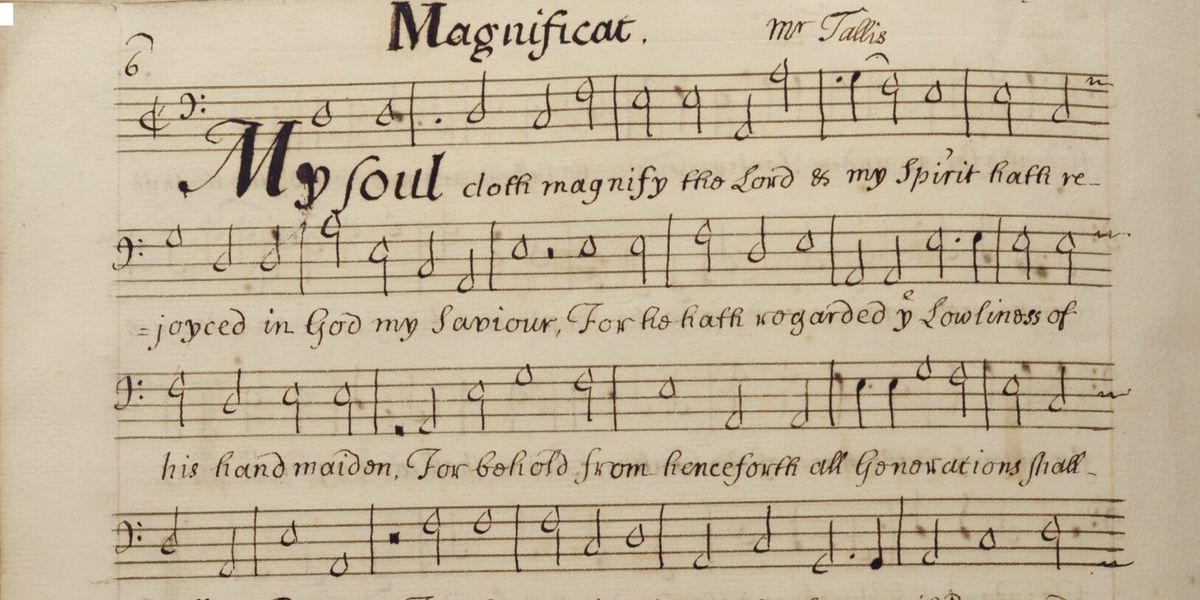 Cathedral music in the early modern period: choir partbooks