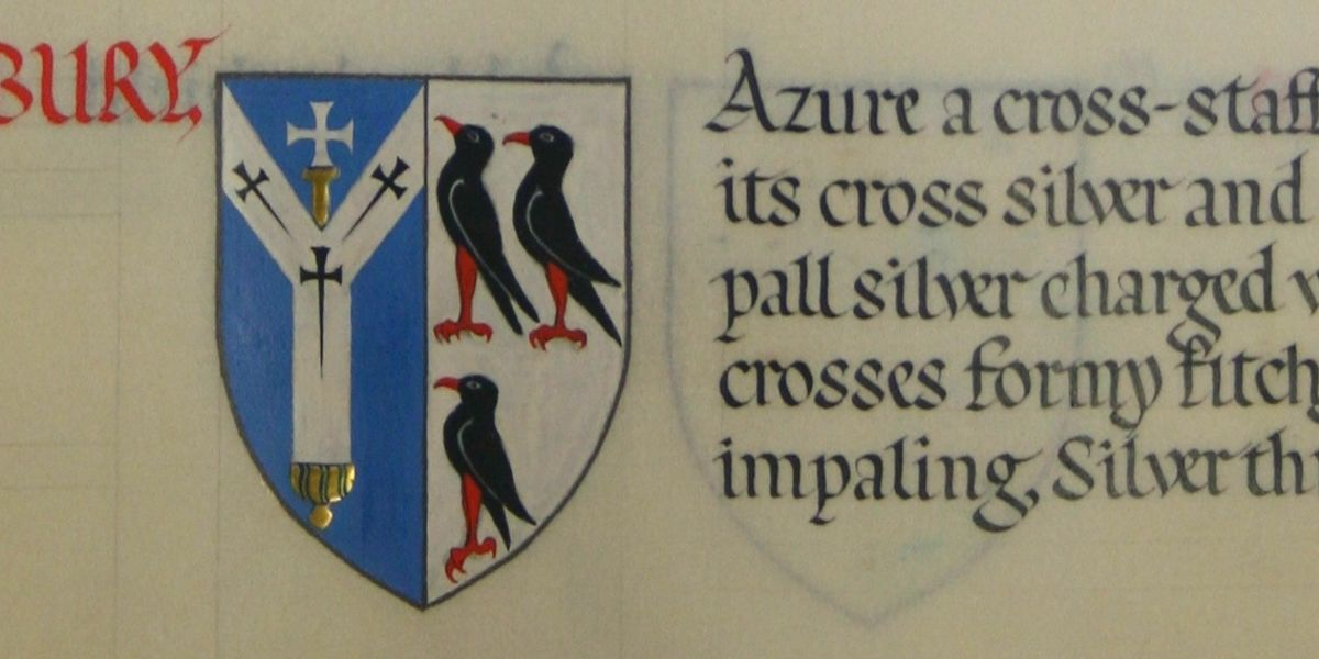 The 20th-century Cathedral and its Friends: The Cloister Book of Arms