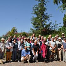 Cathedral community visit Holy Land