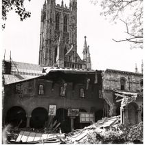 The Cathedral and World War II: The bombing of the Library