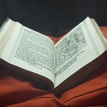 16th Century Primer on display