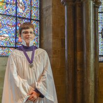 Chorister secures finalist position in prestigious competition