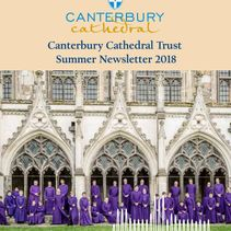 Keep up to date with Cathedral fundraising