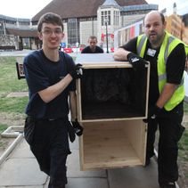 First new pipes arrive for Cathedral organ (post)