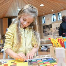 The Big Draw and Children's Pilgrimage Activities