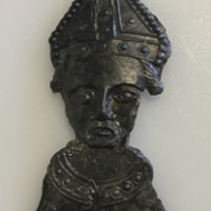 Heads Up: a Becket pilgrim badge