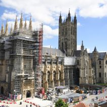 Canterbury Journey contractors return to work