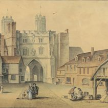 The 18th century: Samuel Grimm watercolour (page)