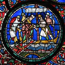 Canterbury Cathedral surprised by Viking assassins
