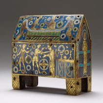 Encased in enamel: Limoges caskets and Becket relics
