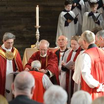Ordination and consecration of new bishop