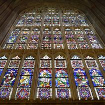 The Great South Window shines once more