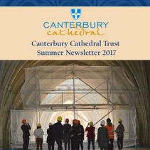 Canterbury Cathedral Trust newsletter