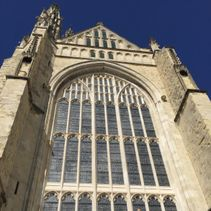 Topping out of Great South Window