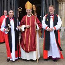 Cathedral consecration of first Bishop of Loughborough