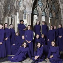 Final curtain for first members of the Girls' Choir at Canterbury Cathedral (post)