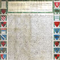 Canterbury Cathedral and Magna Carta: The 'Pine Magna Carta' (page)