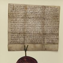 Henry II and St Thomas Becket: Canterbury City's first charter (page)